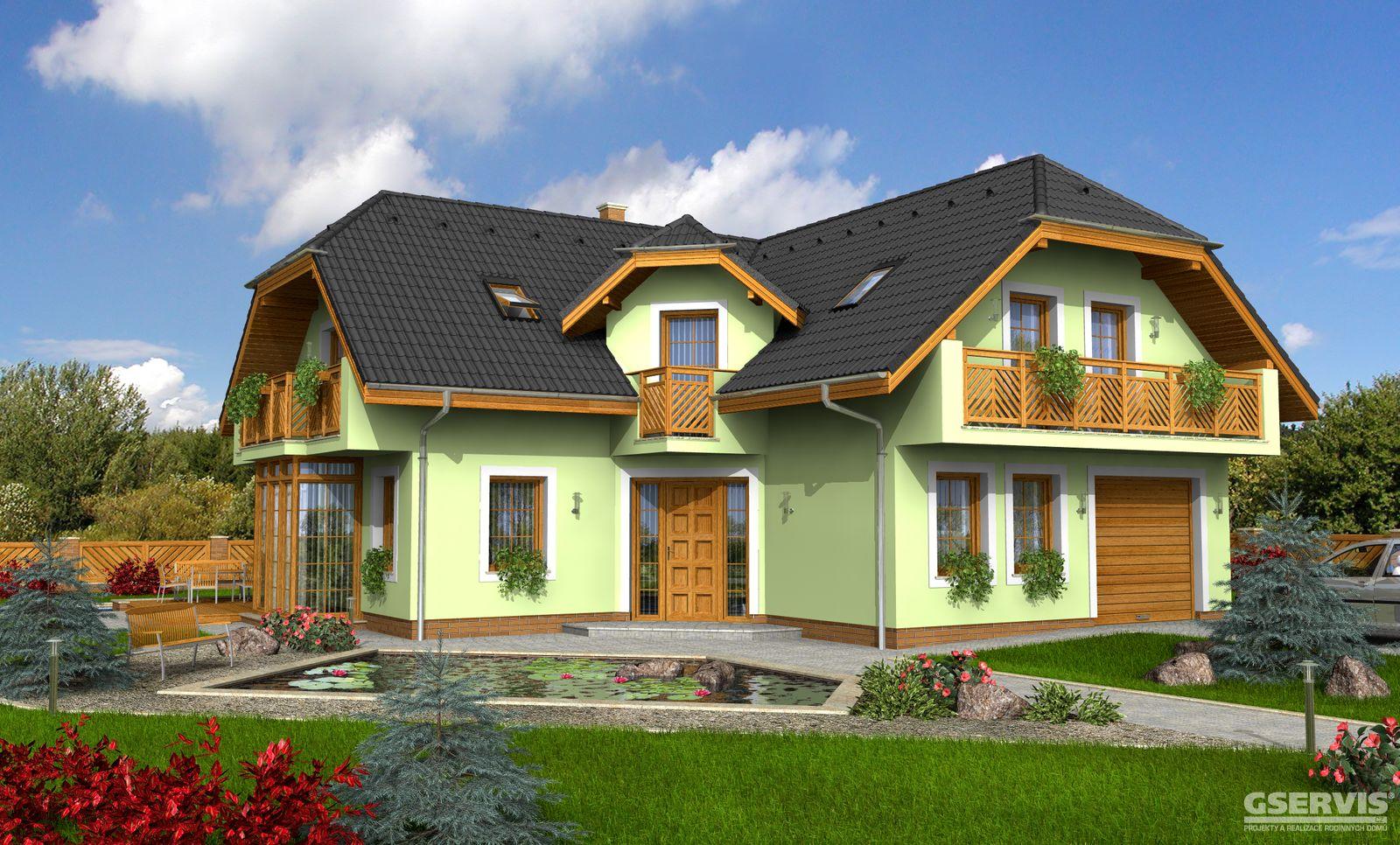 фото проекты угловых домов с мансардой меня это были