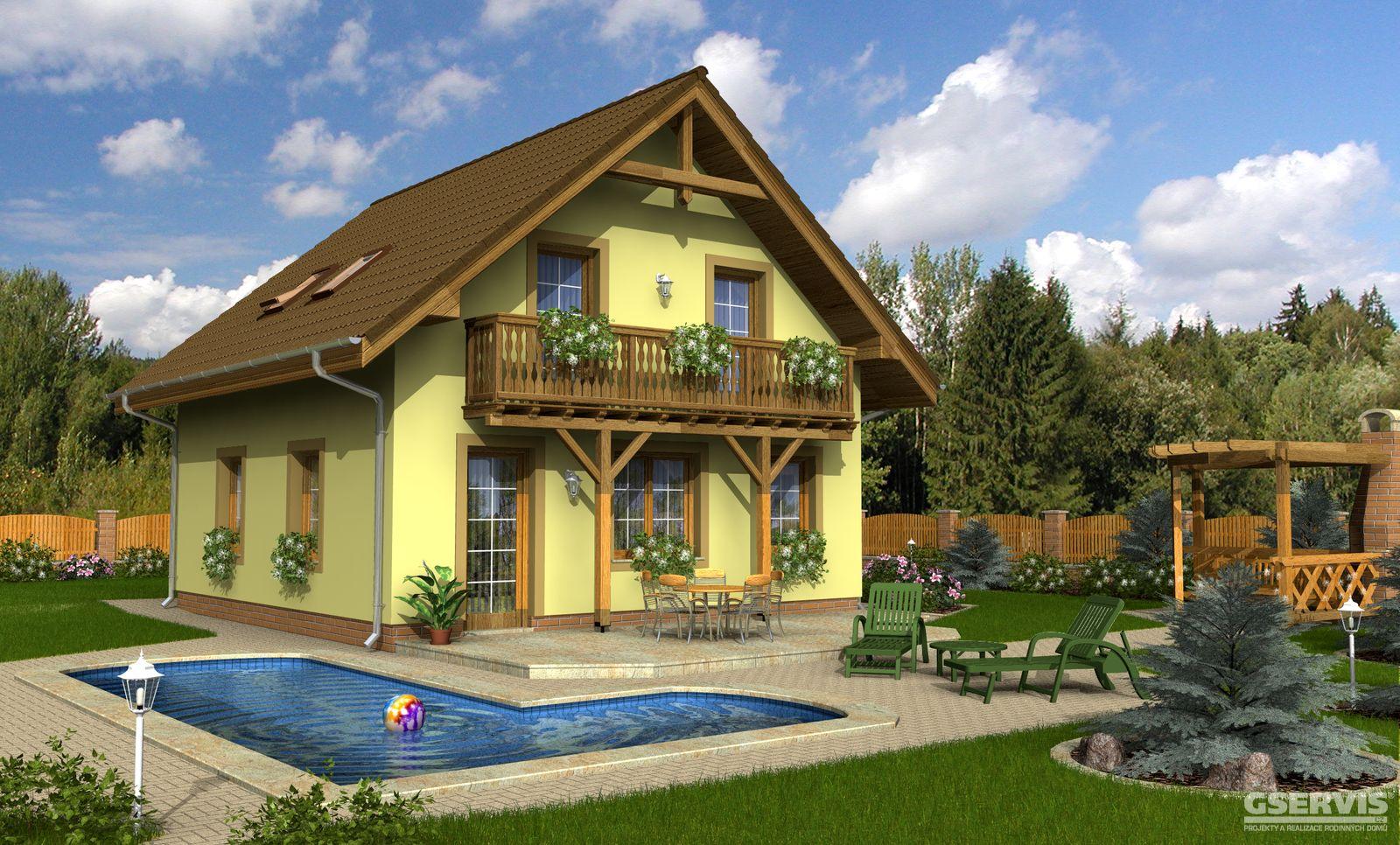 Жилой дом (Каркасная панель) за 1 447 100 руб. Строительство Коттедж.ру